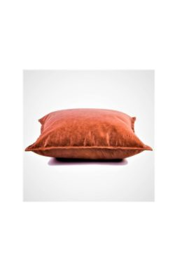 leather cushion cognac