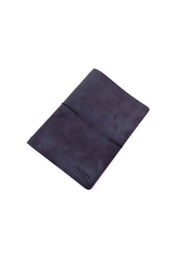 leather menumap A4 black