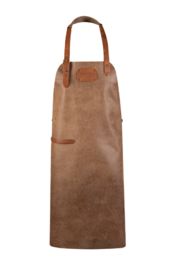 leather apron sand